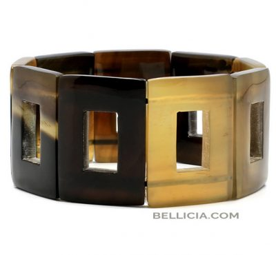 Buffelhoorn armband