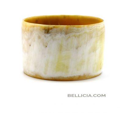 Prachtige buffelhoorn armband Bellicia