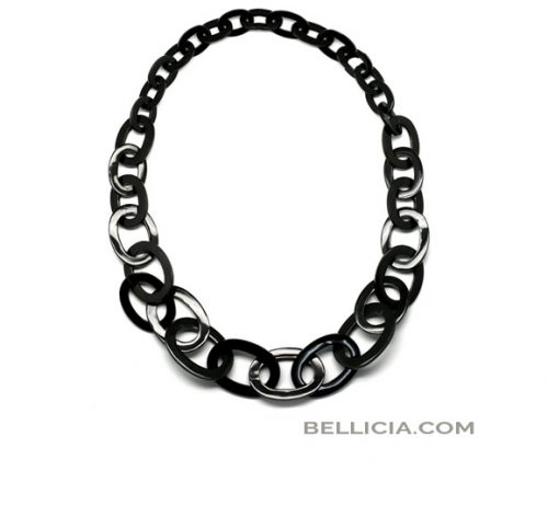 Buffelhoorn ketting Bellicia.com