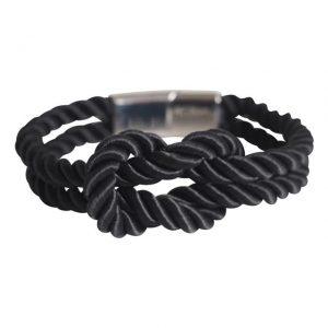 Touw armband met knoop